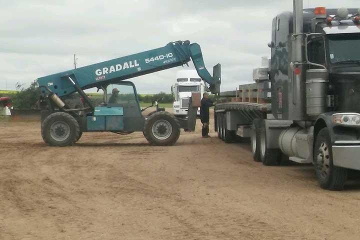 JGL unloading building